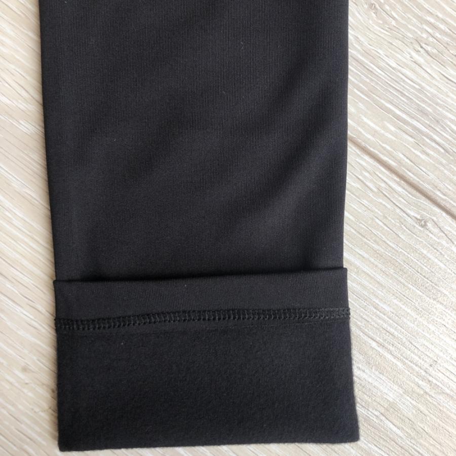Dalgıç Kumaş İçi Şardonlu Yüksek Belli Tayt Siyah
