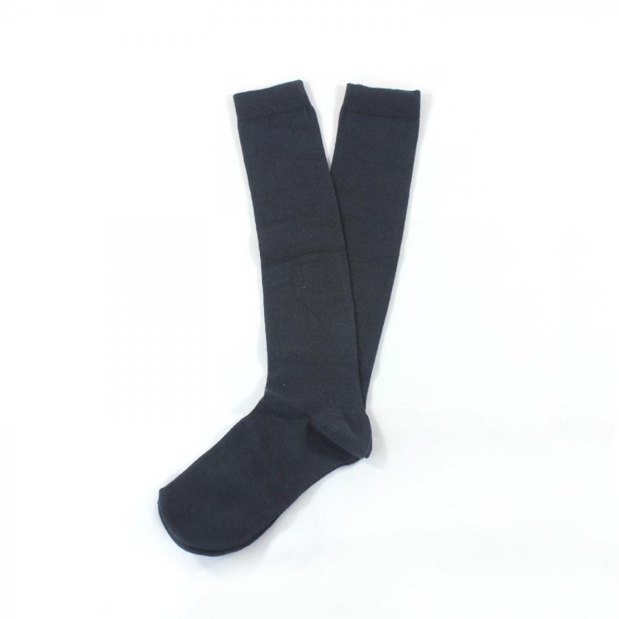 Diz Altı Koton Çorap Antrasit