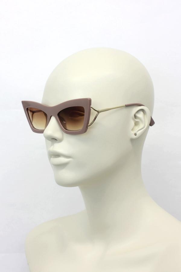 Erica Cat Eye Bayan Güneş Gözlüğü Bej