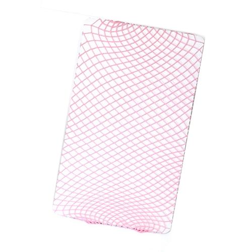 Fishnet Küçük Delikli File Külotlu Çorap Pembe