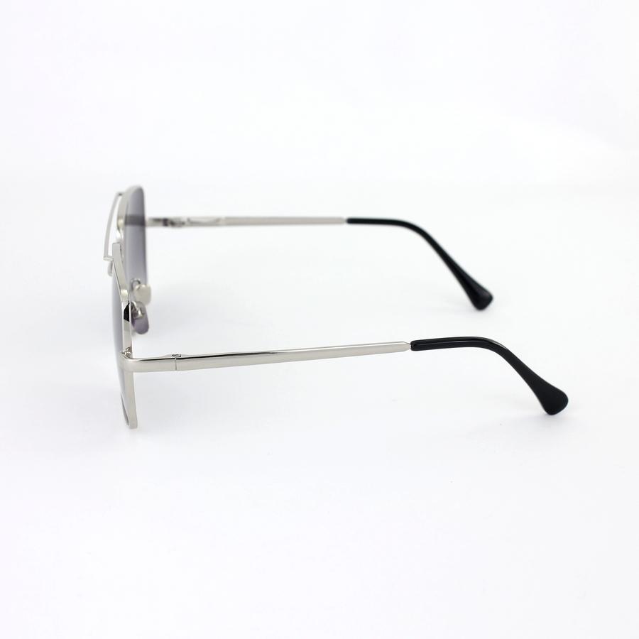Mexx Silver Metal Çerçeveli Siyah Camlı Kare Unisex Güneş Gözlüğü