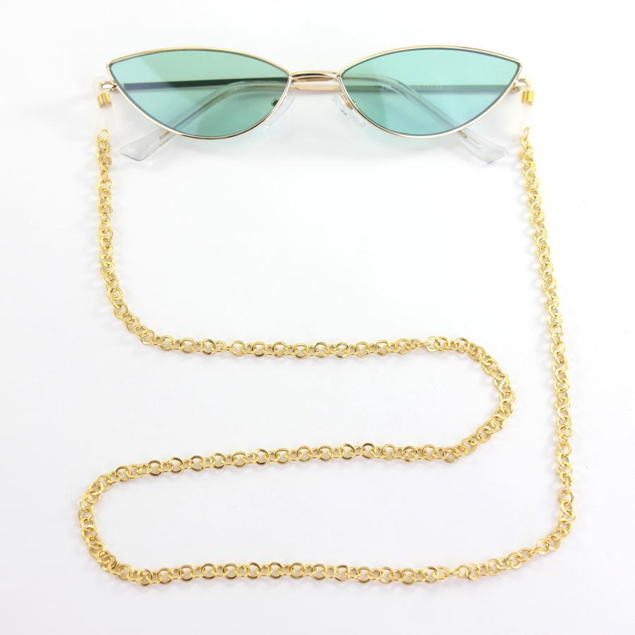 Miss Küçük Halkalı Gözlük Zinciri Gold