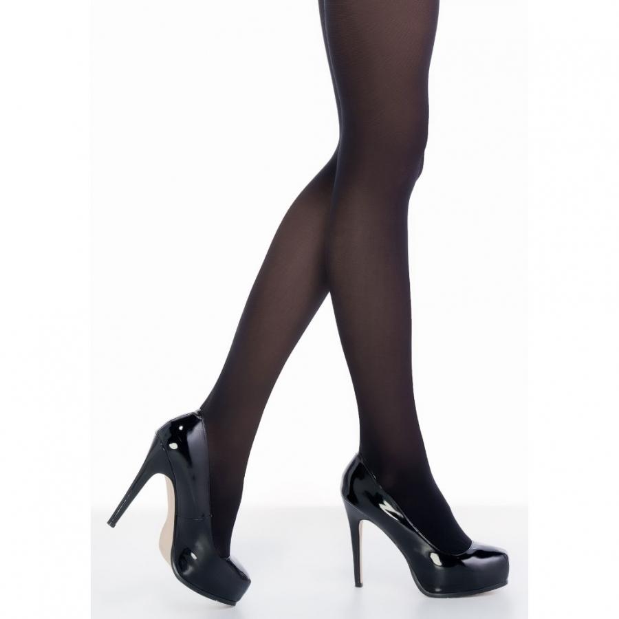 Penti Siyah Koton 60 Den Külotlu Çorap