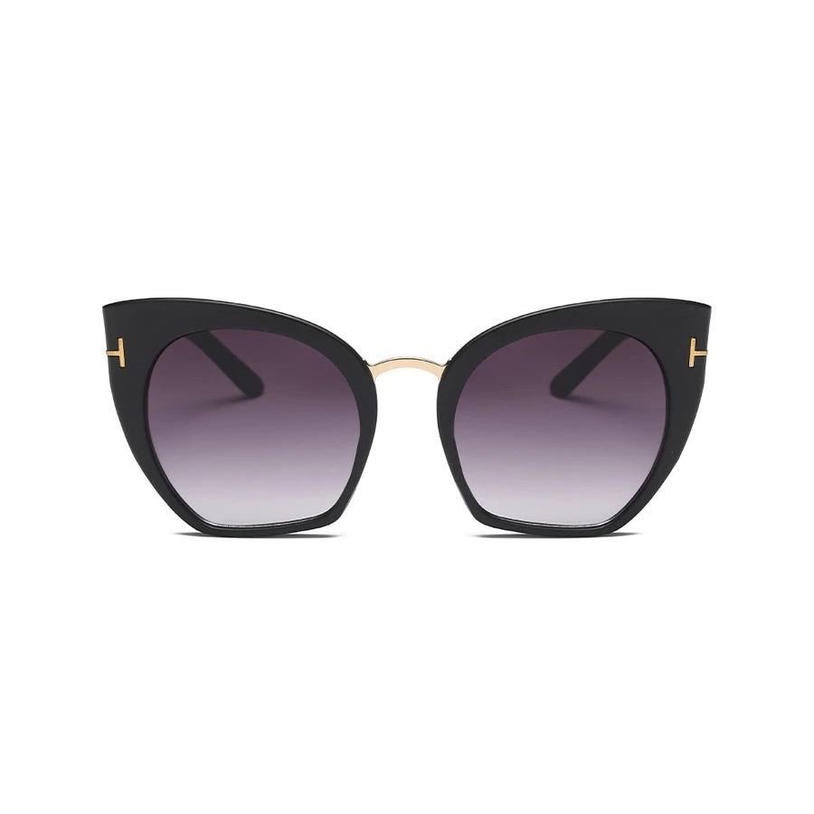 Samantha Degrade Camlı Cat Eye Güneş Gözlüğü Mat Siyah