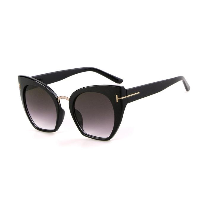 Samantha Degrade Camlı Cat Eye Güneş Gözlüğü Siyah