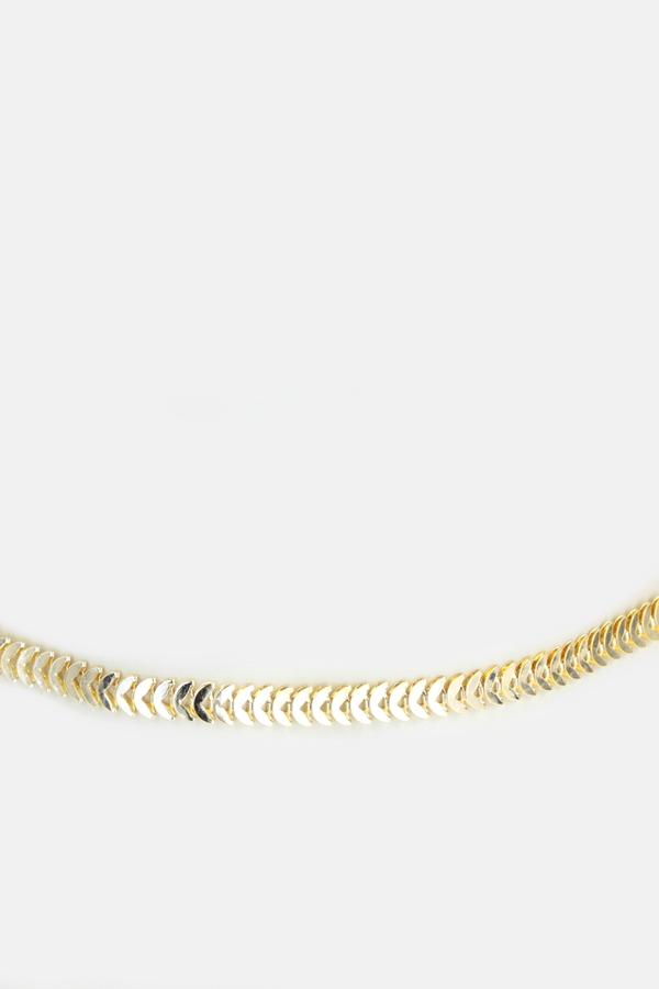 Seaside Balık Sırtı Bel Zinciri Gold