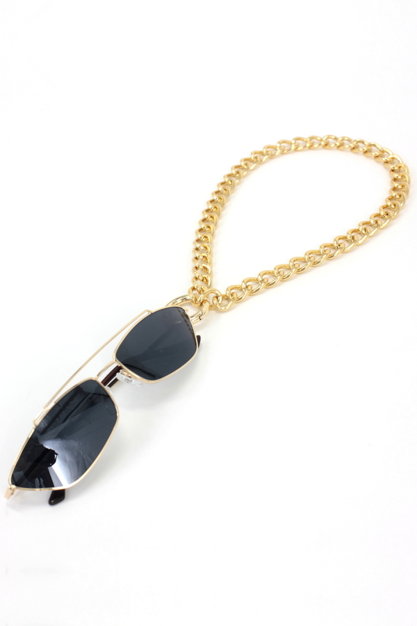Show Gözlük Askılı Kolye Gözlük Zinciri Gold