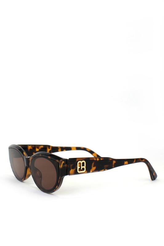 Amaze Me Kahverengi Camlı Cat Eye Güneş Gözlüğü Leopar