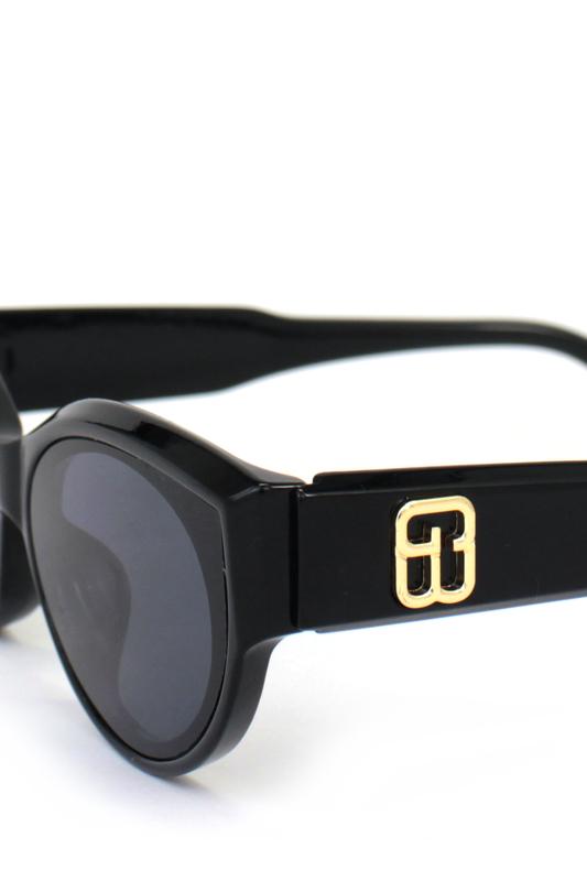 Amaze Me Siyah Camlı Cat Eye Güneş Gözlüğü Siyah
