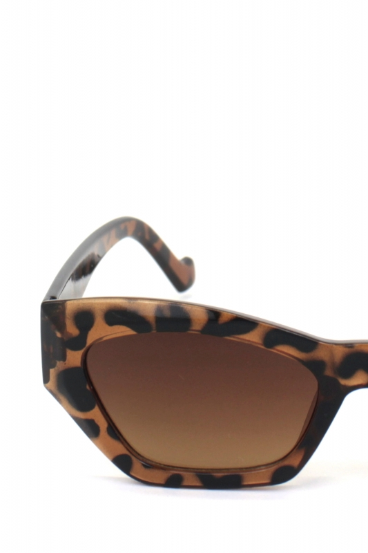 Cloe Cat Eye Bayan Güneş Gözlüğü Leopar