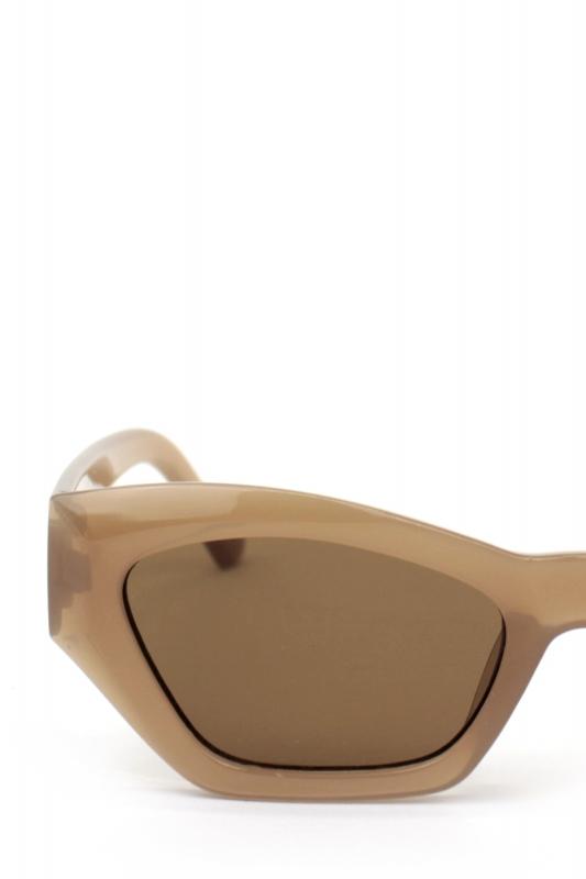 Cloe Cat Eye Bayan Güneş Gözlüğü Nude