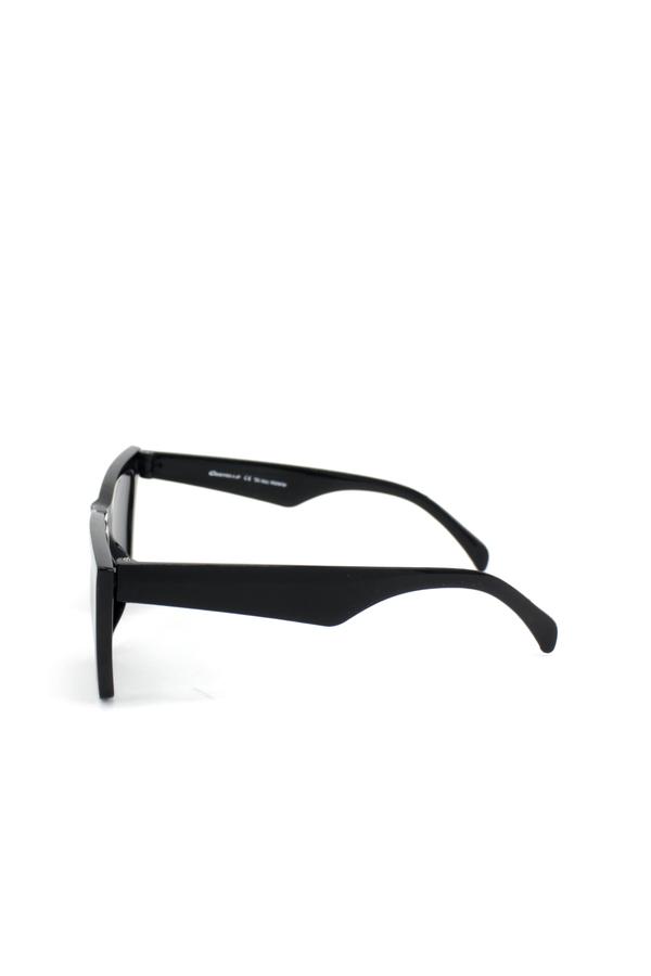 Designer Cat Eye Köşeli Bayan Güneş Gözlüğü New Siyah