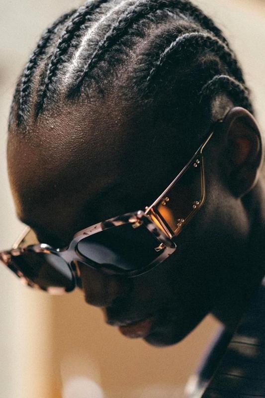 Flex Gold Metal Çerçeveli Özel Tasarım Bayan Güneş Gözlüğü Kahverengi Leopar