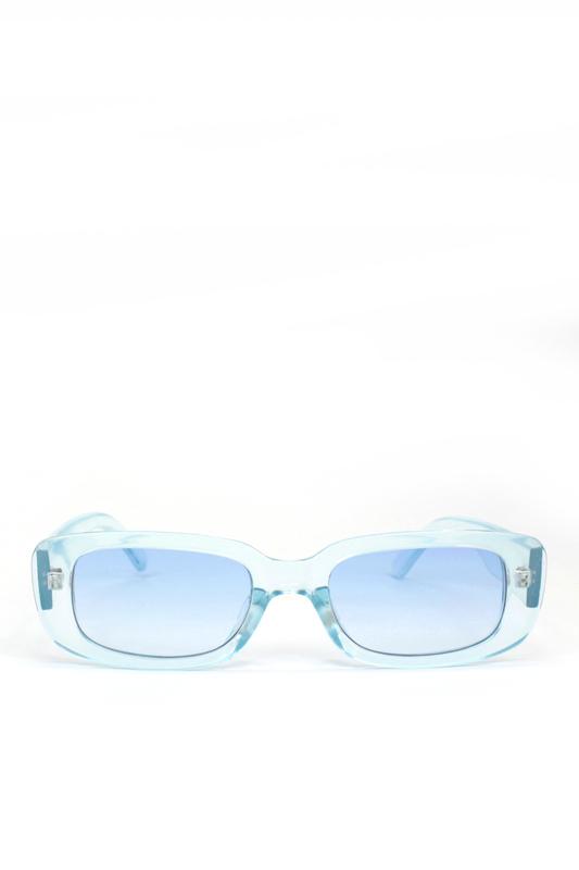 Ginger Mavi Camlı Dikdörtgen Güneş Gözlüğü Mavi