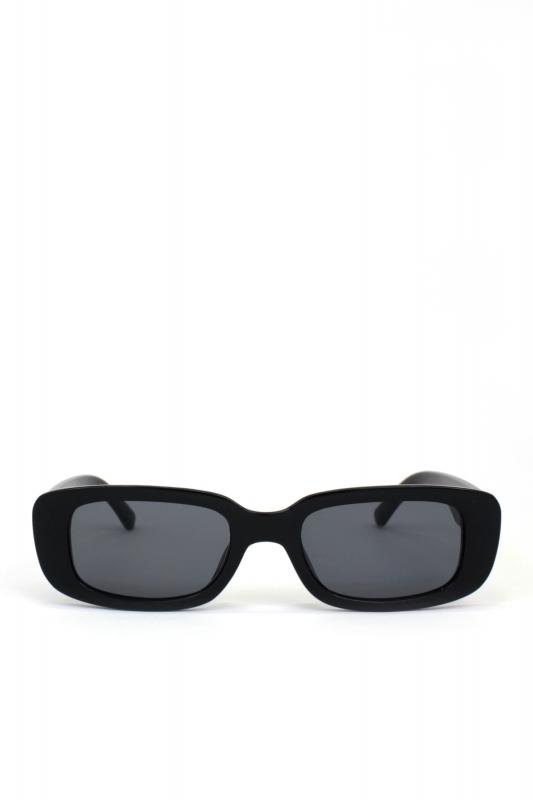 Ginger Siyah Camlı Dikdörtgen Erkek Güneş Gözlüğü Siyah