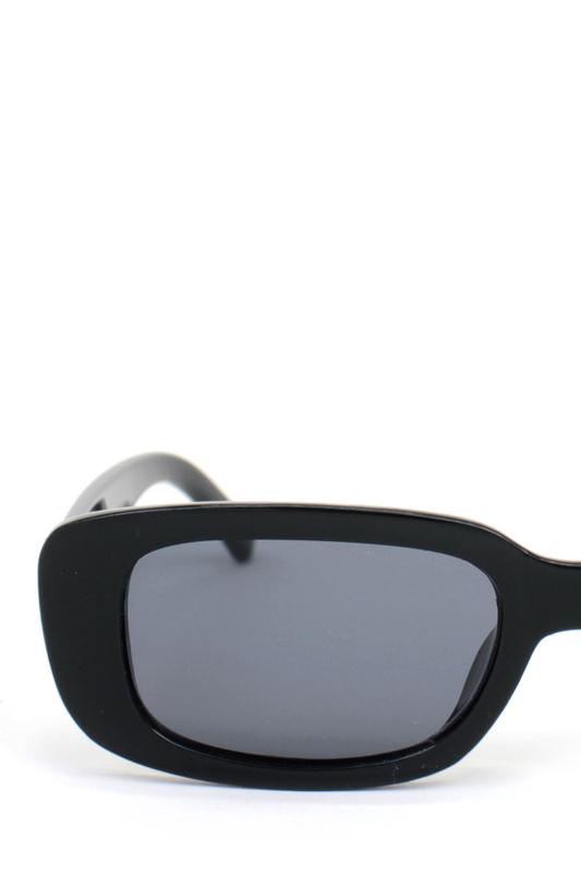 Ginger Siyah Camlı Dikdörtgen Güneş Gözlüğü Siyah