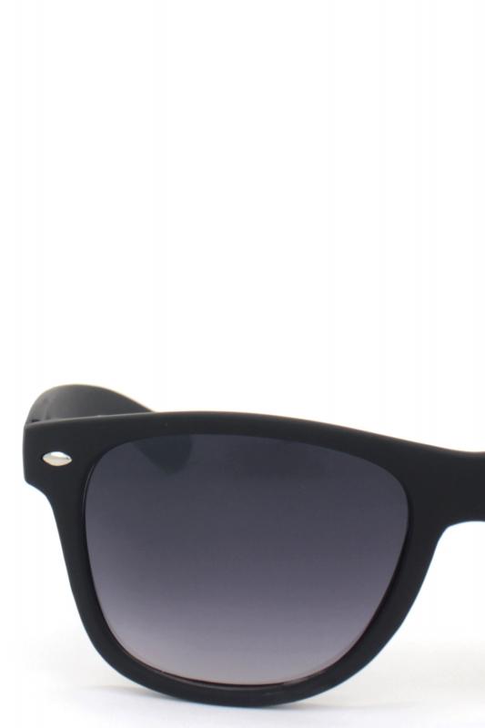 Just-in Kare Çerçeveli Klasik Erkek Güneş Gözlüğü Mat Siyah