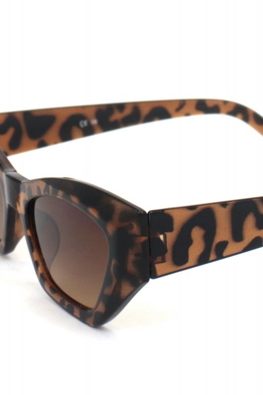 Loti Cat Eye Erkek Güneş Gözlüğü Leopar