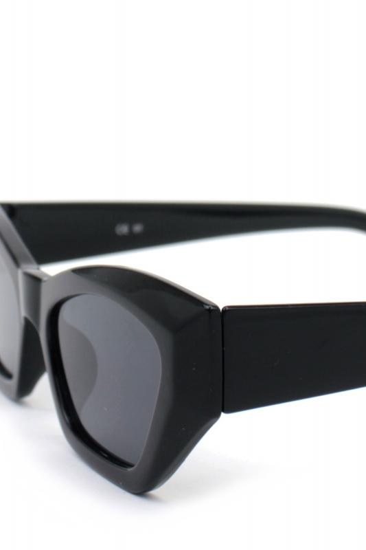 Loti Cat Eye Erkek Güneş Gözlüğü Siyah