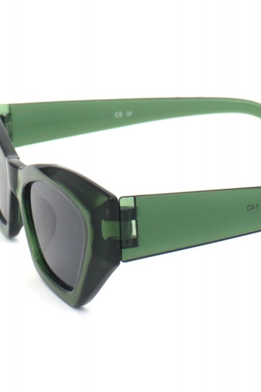 Loti Cat Eye Erkek Güneş Gözlüğü Yeşil