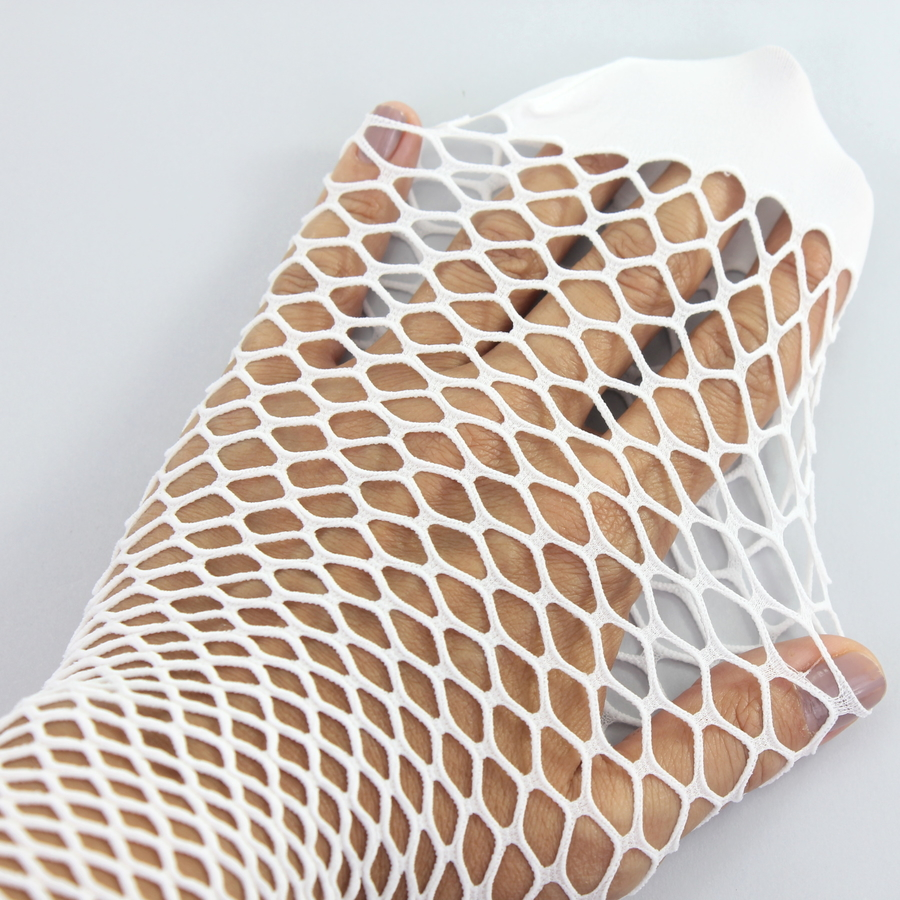 Pesca File Külotlu Çorap Beyaz
