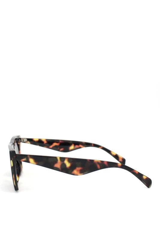 Premium Designer Cat Eye Bayan Güneş Gözlüğü Tortoise Siyah