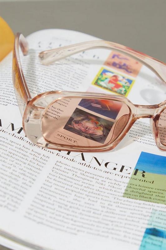Prime Oval Çerçeveli Bayan Güneş Gözlüğü Açık Kahverengi