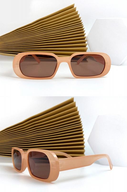 Prime Oval Çerçeveli Bayan Güneş Gözlüğü Karamel