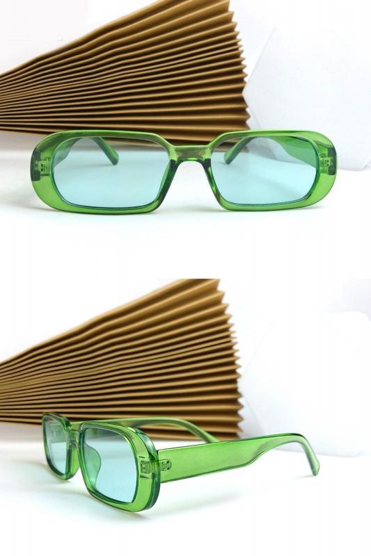 Prime Oval Çerçeveli Bayan Güneş Gözlüğü Yeşil