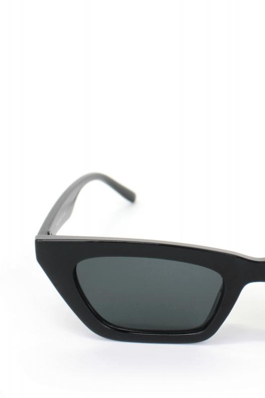 See Me Kemik Çerçeveli Cat Eye Erkek Güneş Gözlüğü Siyah