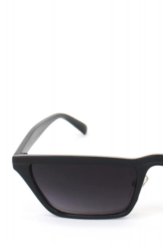 Summer Hot Cat Eye Köşeli Erkek Güneş Gözlüğü Siyah