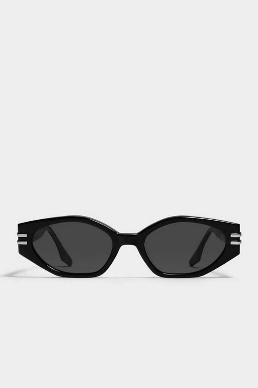 Tala Cat Eye Bayan Erkek Güneş Gözlüğü Siyah