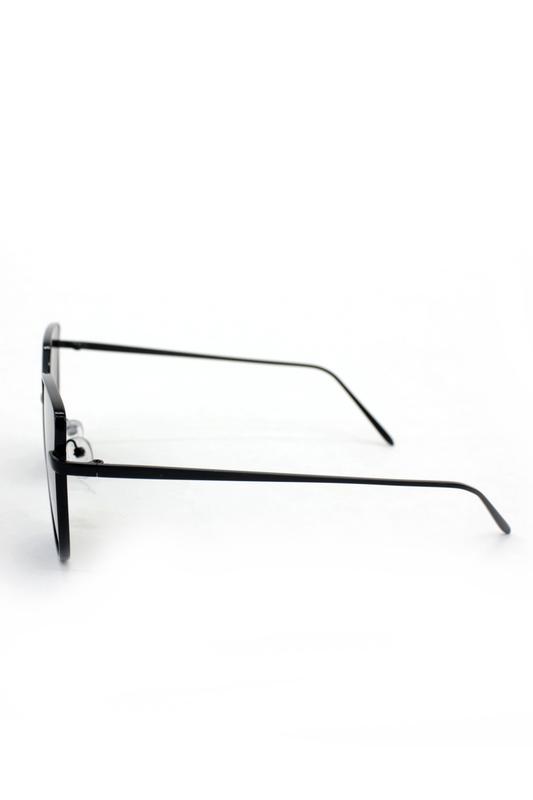 Too Cool Siyah Metal Çerçeveli Cat Eye Bayan Güneş Güneş Gözlüğü Siyah